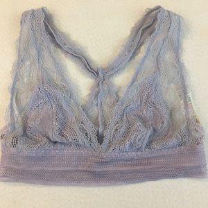 TOPSHOP lavender/ purple lace bralet size 6